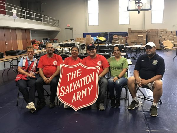Councilwoman Maria Quiñones-Sánchez along with others from the Salvation Army during a weeklong trip in Puerto Rico  (Rev. Bonnie Camarda at Salvation Army)