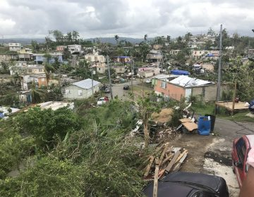 Destruction in Puerto Rico from Hurricane Maria (Rev. Bonnie Camarda at Salvation Army)