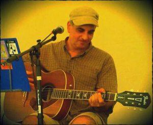 Guitarist Larry Tritel