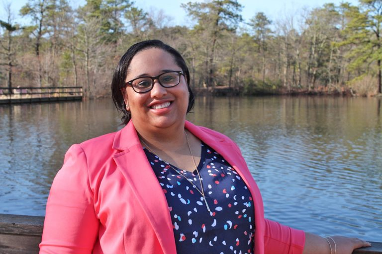 Ashley Bennett won a seat as Atlantic County Freeholder in the most recent election (Bennett for Freeholder)