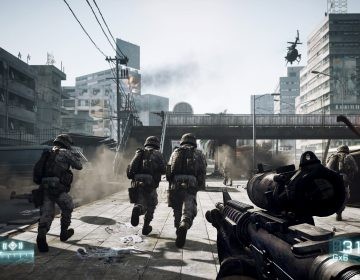 First-person shooters like 'Battlefield 3' have become very realistic.