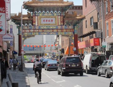 Later this summer a sharrow will likely replace the 10th Street bike lane in Chinatown.