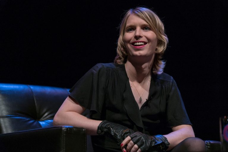 Chelsea Manning is pictured in Philadelphia  in this 2017 file photo. (Annenberg School for Communication, University of Pennsylvania, file)