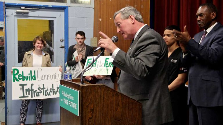 Mayor Kenney pitches sugary drink tax as key for his Pre-K and Rebuild initiatives, March 2016