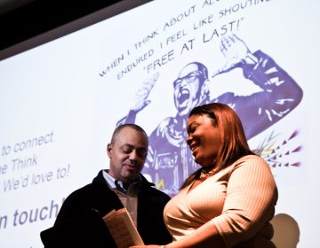Hiram Adams and Deanna Bell from the Reentry Think Tank share their story at The Reentry Blueprint event.