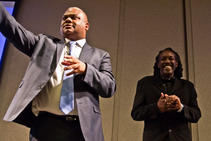 Ruben Jones and Jondhi Harrel run The Center for Returning Citizens.