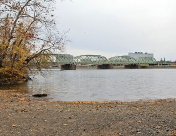 A view of the Delaware River from Morrisville, Pa. The Delaware River Basin Commission voted Wednesday on a resolution that could result in a ban on fracking in the Basin.