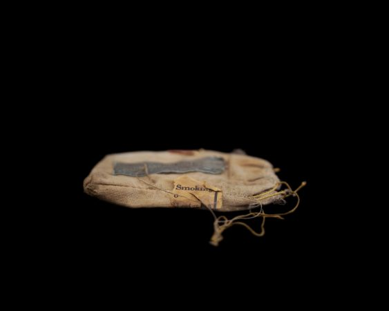 Tobacco pouch (Photo by Wendel White)