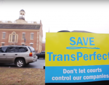 This screen grab from an advertisement from the group Citizens for a Pro-Business Delaware has been part of a marketing blitz to keep the company intact. (YouTube)