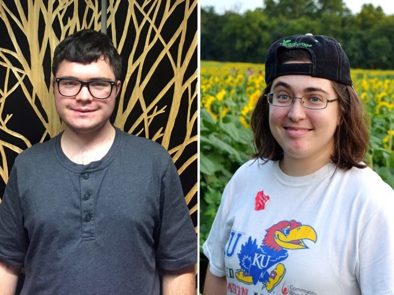 James Carmody has Asperger's syndrome and is a freshman at the State University of New York College of Environmental Science and Forestry. He sat down with Elizabeth Boresow, who graduated from the University of Kansas and also has autism. (Courtesy of James Carmody; Allison Marcus)