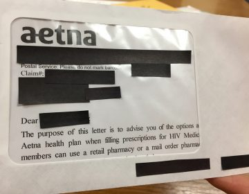 A mailing from insurer Aetna breached the privacy of thousands of HIV positive members.