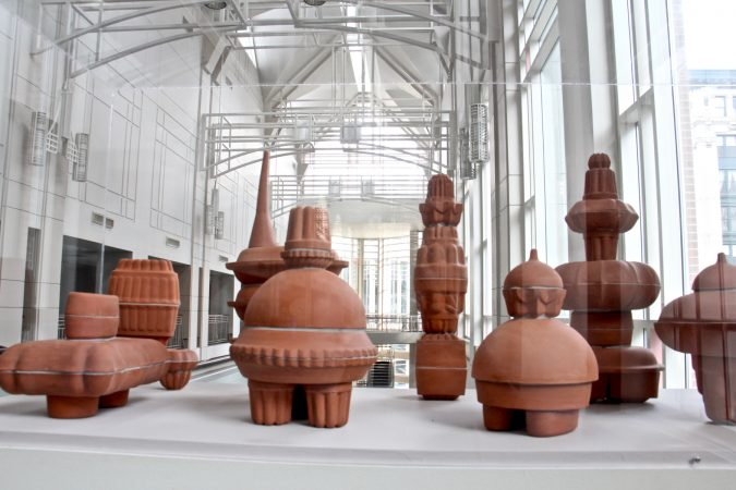 Nicholas Kripal's collection of terracotta sculptures,