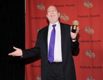 WNYC Radio talk show host Leonard Lopate poses with his award at the 72nd Annual George Foster Peabody Awards at the Waldorf-Astoria on Monday, May 20, 2013 in New York.