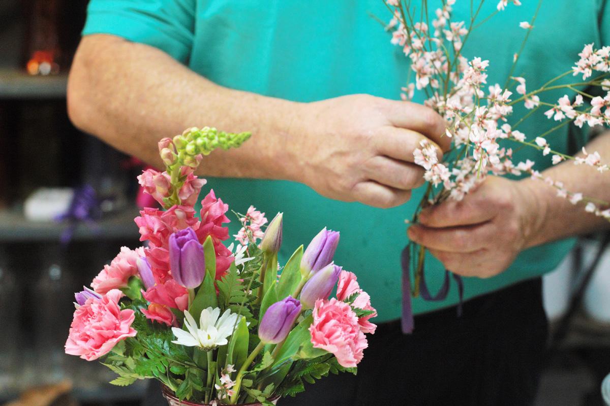 Hugh Overhill Flowers