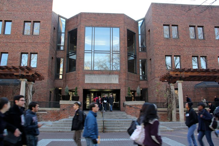 The Wharton School of Business on the University of Pennsylvania campus.