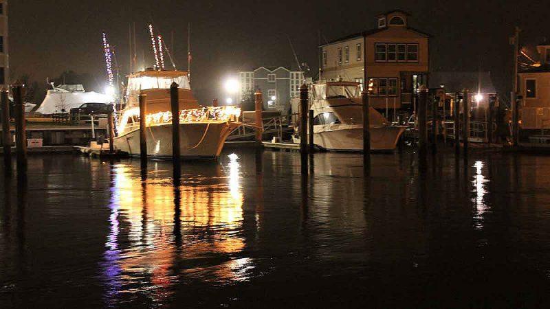 Cape May at night. (Bill Barlow/for WHYY)