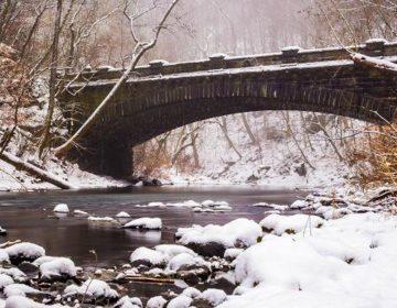 Bridge over the Wissahickon in winter (Gary Citrone)