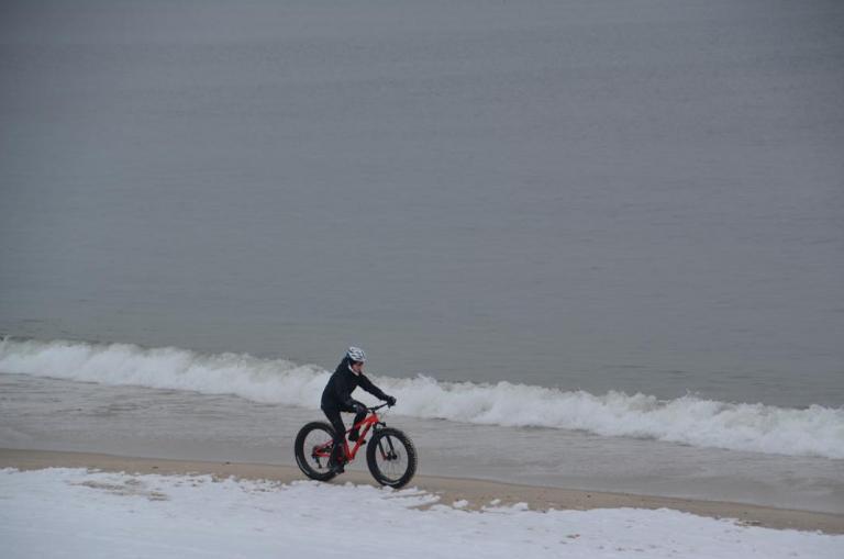 Beach biking in Bay Head by @deedeefinns as tagged #JSHN on Instagram.