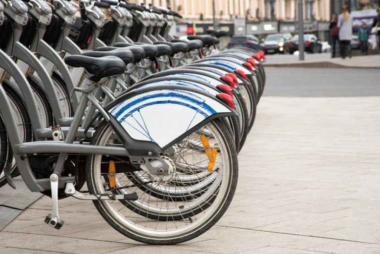 Bike-share programs allow anyone with a credit-card to rent a bike on the spot. (Big Stock photo)