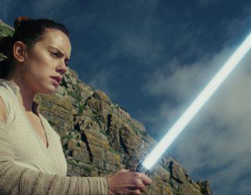 Daisy Ridley as Rey in