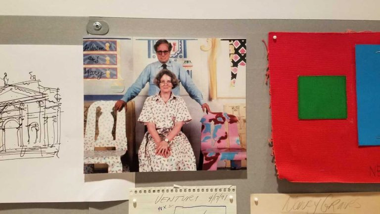 Architects Robert Venturi and Denise Scott Brown had a residency at Fabric Workshop and Museum in Philadelphia in 1984. (Fabric Workshop and Museum)