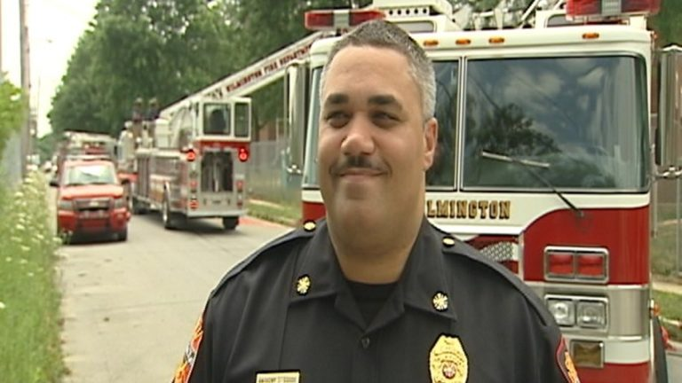 Former Wilmington Fire Chief Anthony S. Goode (Charlie O'Neill/WHYY)