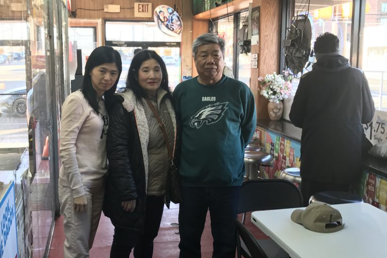 The owners of Bu Bu Deli, Lisa, Hieng, and Mike Taing.