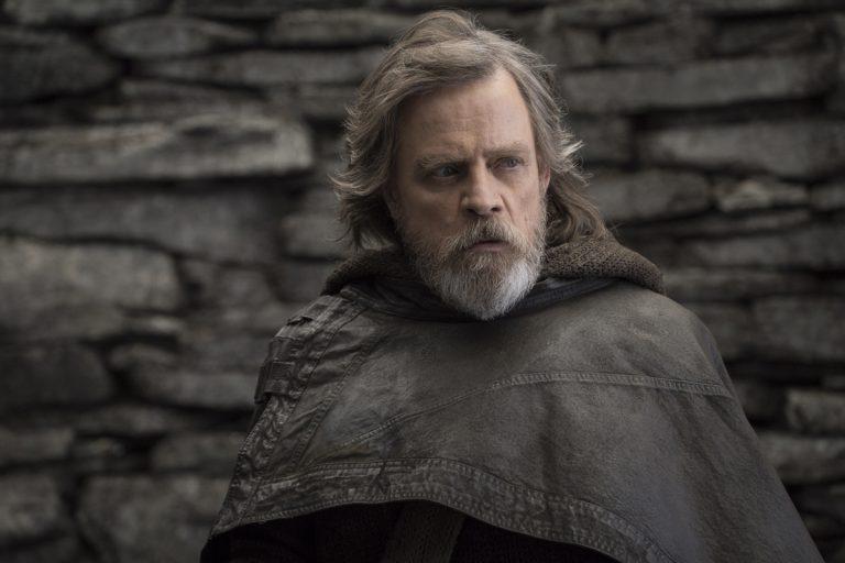 Mark Hamill as Luke Skywalker in