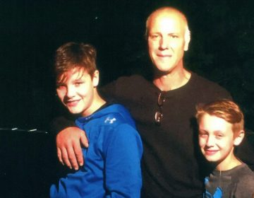 Ed Zaleski, pictured with his sons in a family photo, was found dead in his jail cell at Curran-Fromhold Correctional Facility hours after he was arrested.