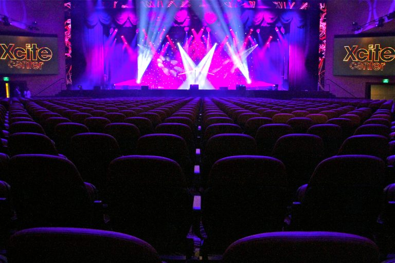 Xcite Center is the new music theater at Parx casino in Bensalem.