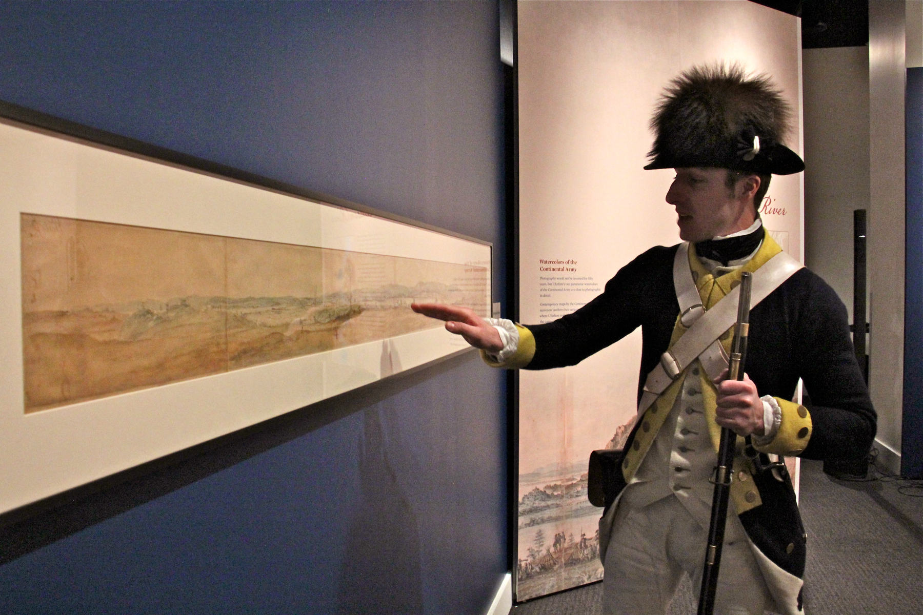 revolutionary war army comes to life in newly discovered