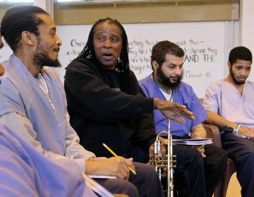 Philadelphia Orchestra composer-in-residence Hannibal Lokumbe meets with inmates at Philadelphia Detention Center, an experience that will inform his work.