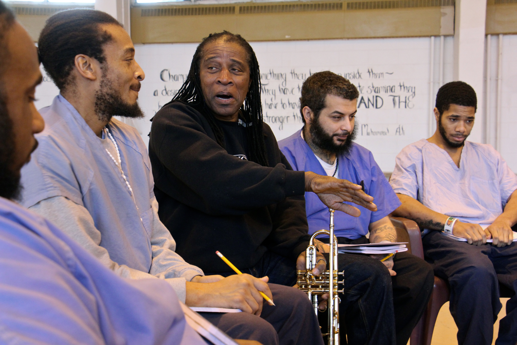 Seeking the music of 'Healing Tones' within Philly prison