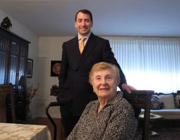 Brian Gralnick of the Jewish Federation of Greater Philadelphia is working to help 91-year-old Holocaust Survivor Sylvia Genoy keep her home in Northeast Philadelphia.