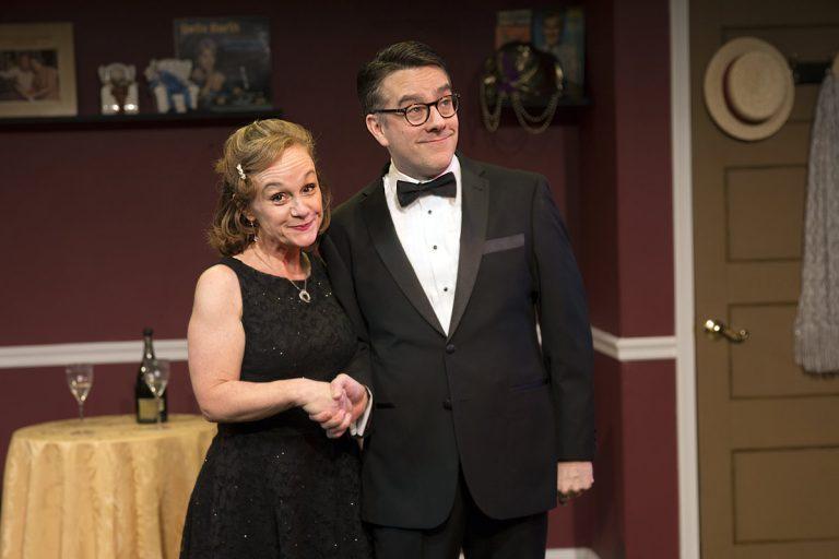 Jennifer Childs and Tony Braithwaite in the co-production of