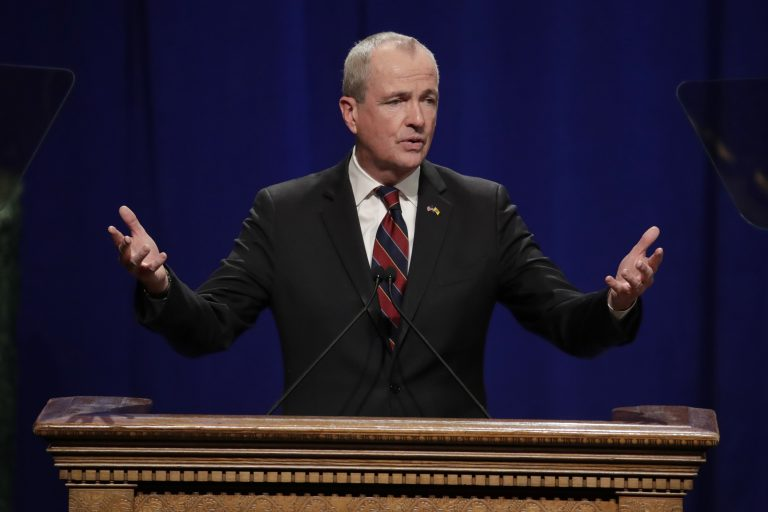 New Jersey Gov. Phil Murphy wants towns to be able to establish charitable funds that pay for local services. Homeowners would get credits on their property tax bills for any amount they donate. (AP Photo/Julio Cortez)