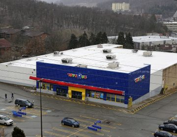 This is a Toys R Us store in Pittsburgh, Wednesday, Jan. 24, 2018. This store is one of the approximately 182 stores Toys R Us plans to close nationwide as part of its Chapter 11 bankruptcy reorganization plan. (AP Photo/Gene J. Puskar)