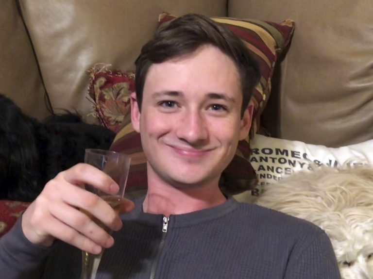 University of Pennsylvania student Blaze Bernstein, 19, was killed last week in his California home town. Police Friday arrested a suspect in the slaying. (Orange County Sheriff's Department via AP)