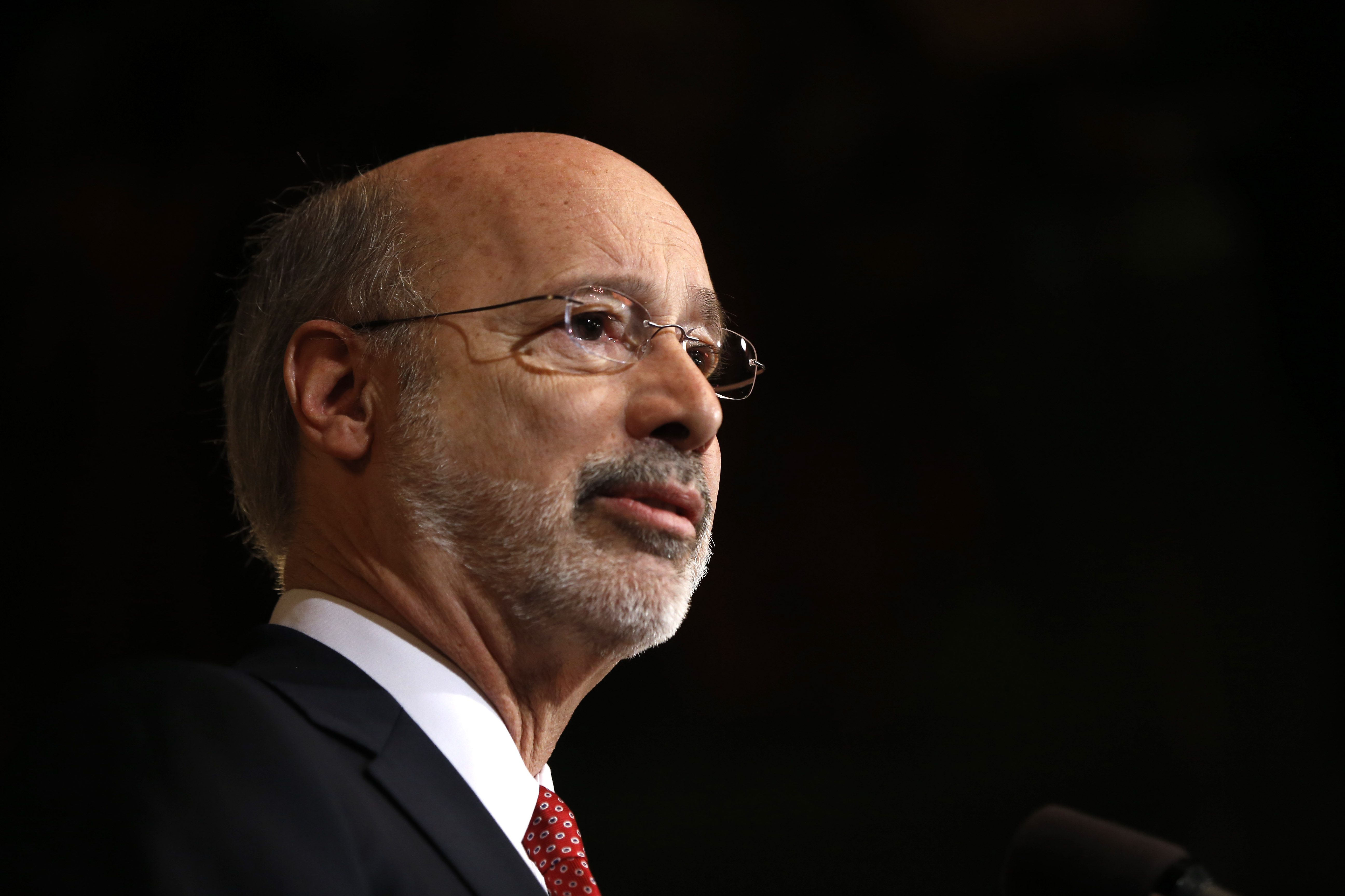 Gov. Wolf touts success of opioid info sharing system after first year