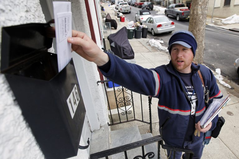 In the most recent Gallup polling, 74 percent of Americans rated the U.S. Postal Service as excellent. Overall, those polled approve of federal agencies, but not the U.S. government.  (Matt Rourke/AP, file)