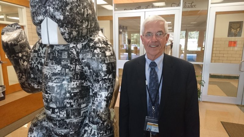 Superintendent William Nichols has been with the Corry School District for nearly 50 years (Kevin McCorry/Keystone Crossroads)