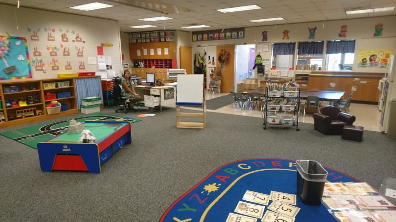 An early childhood education space in Corry's vocational wing (Kevin McCorry/Keystone Crossroads)