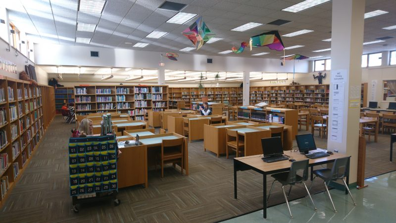 The Corry High School library (Kevin McCorry/Keystone Crossroads)