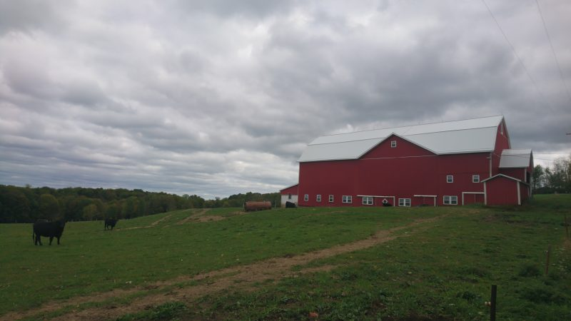 A barn on the outskirts of the Titusville School district (Kevin McCorry/Keystone Crossroads)