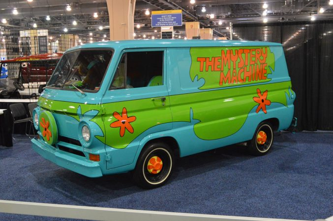 The Mystery Machine from