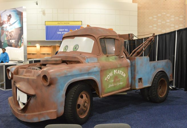 Tow Mater from the Disney move