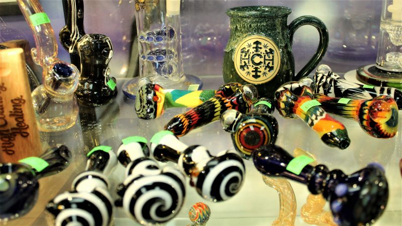 Glass pipes. (Bill Barlow/for WHYY)
