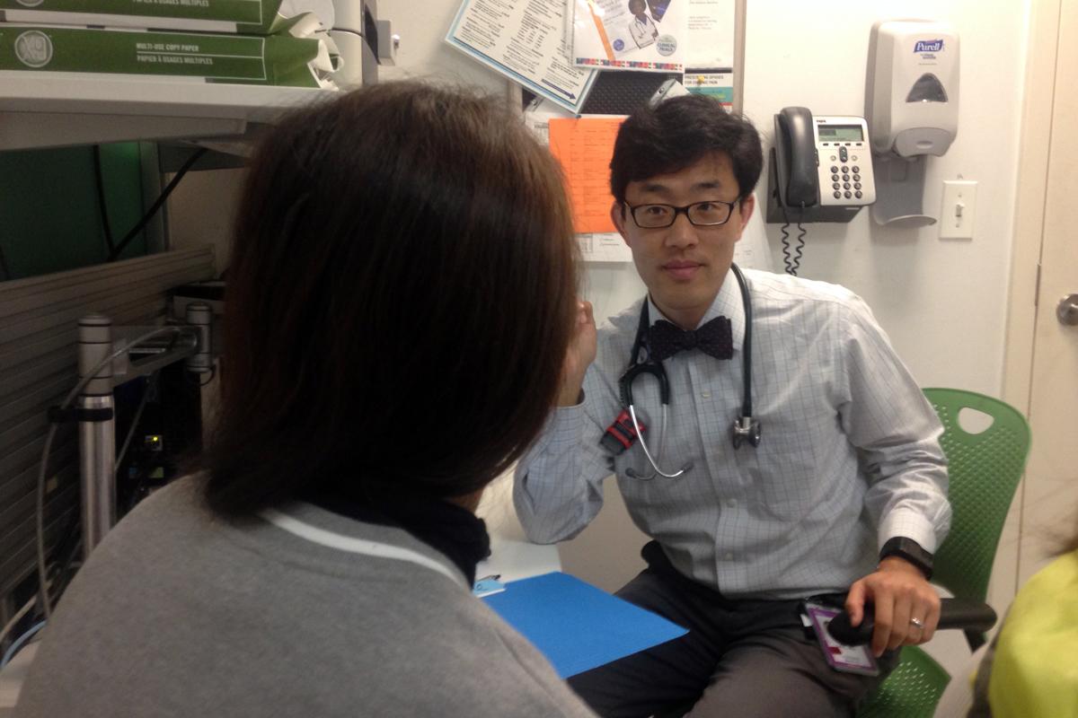 Dr. Steve Lee, oncologist