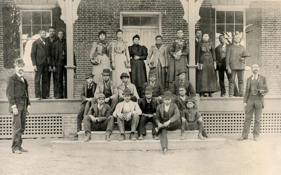 Historic photograph of Delaware State University.