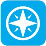 WHYY Passport compass logo.